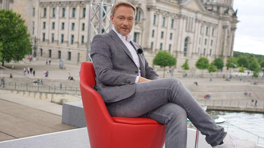 Christian Lindner im ARD-Sommerinterview