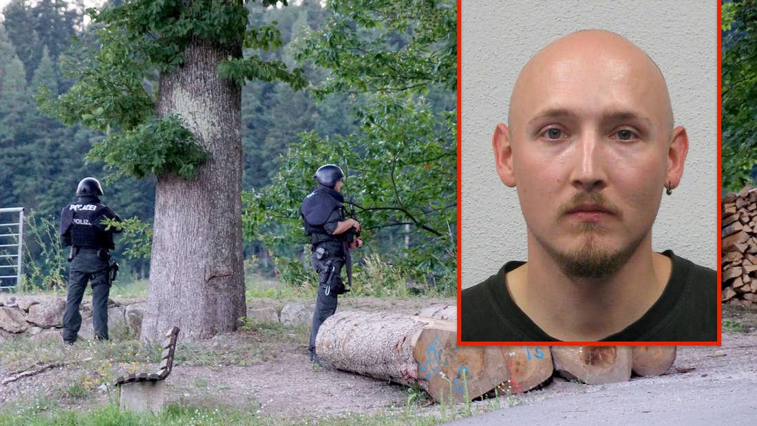 Oppenau: Die Polizei sucht weiterhin nach dem flüchtigen bewaffneten Yves R.