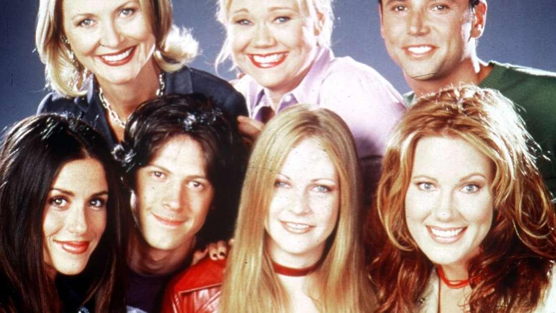 "Die Darsteller der TV-Serie ""Sabrina - Total verhext!"""