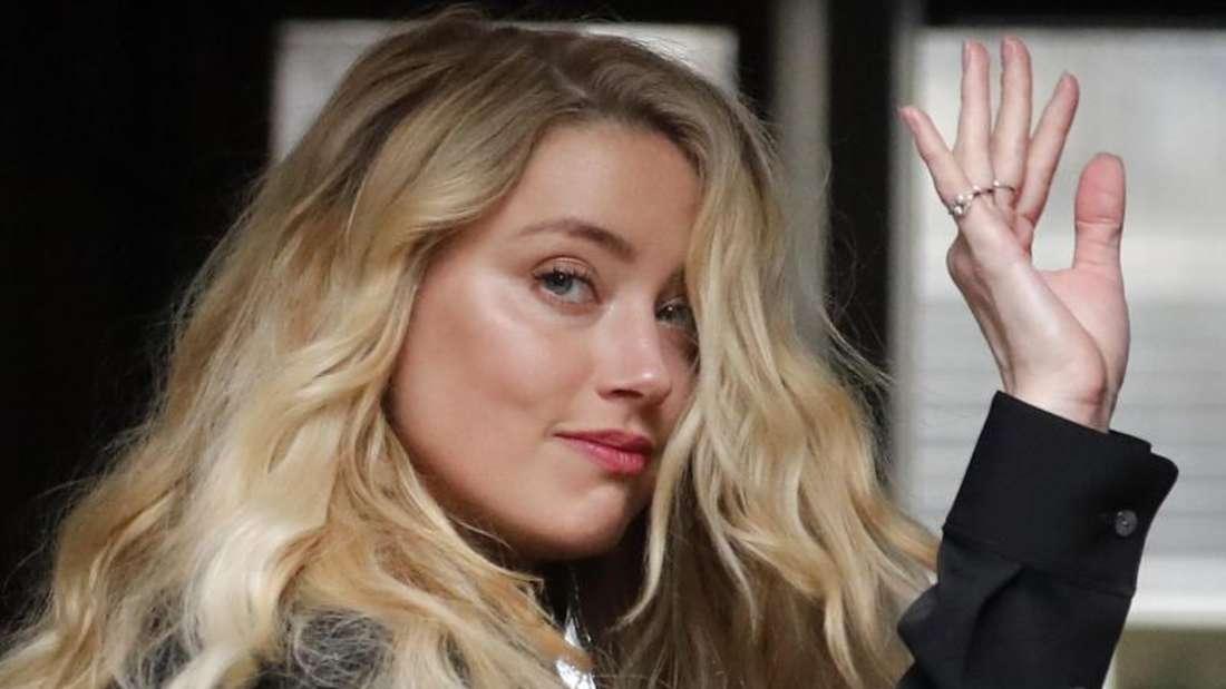 Amber Heard bei ihrer Ankunft am High Court zum letzten Tag der Anhörungen. Foto: Frank Augstein/AP/dpa