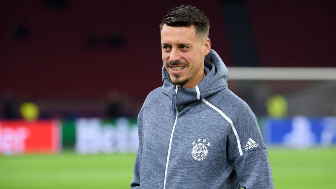 Sandro Wagner (hier im Dress des FC Bayern München) könnte in die Bundesliga zurückkehren.