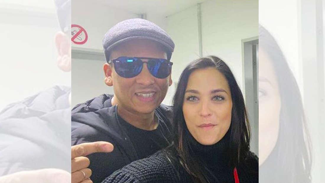 Amira Pocher und Xavier Naidoo: Die Pochers kennen den Soul-Sänger auch persönlich.