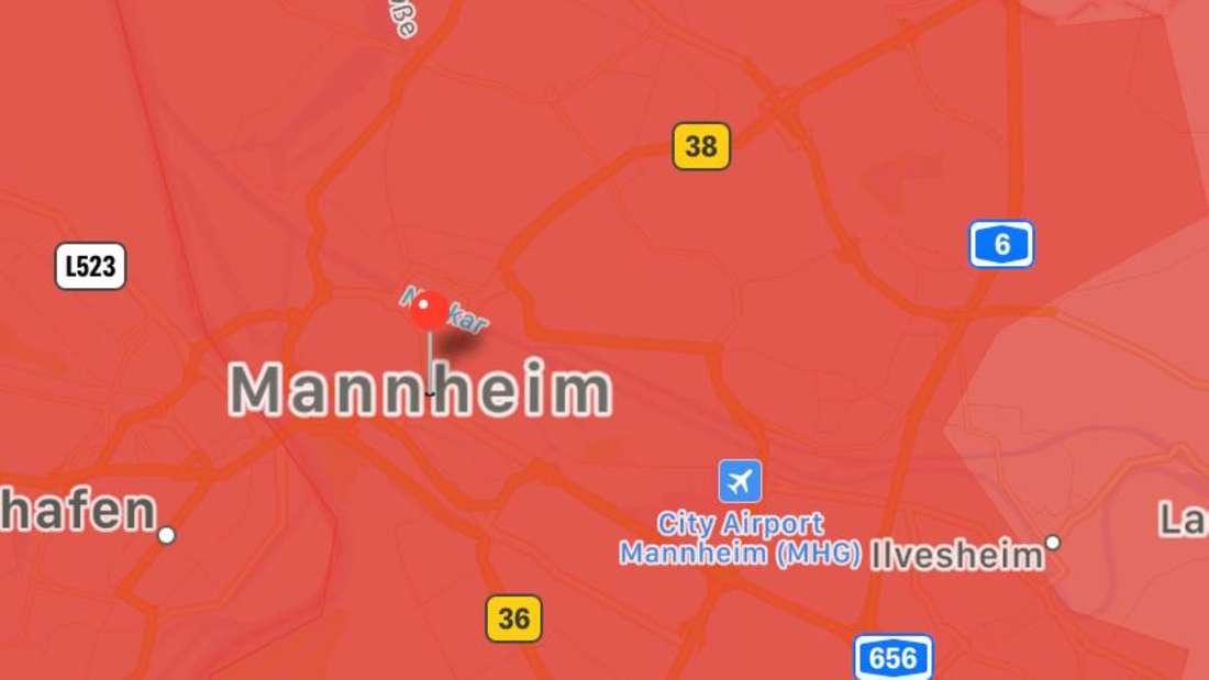 """Die Wetter-Warnung von """"Katwarn"""" (Stand 9:35 Uhr)"""