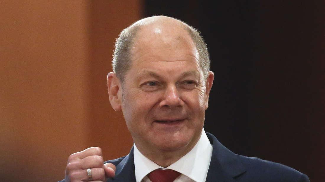 Bundesfinanzminister Olaf Scholz bei einer Kabinettssitzung in Berlin Ende Juli 2020.