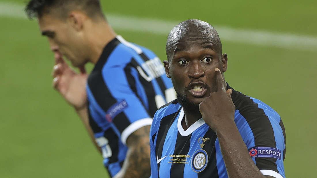 Inters Romelu Lukaku hat den Durchblick.