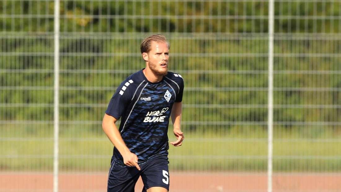Marcel Seegert ist neuer Kapitän des SV Waldhof.
