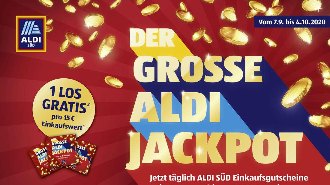 Der große ALDI Jackpot: Für 5000 Euro einkaufen und nichts dafür bezahlen? ALDI Gewinn-Aktion.