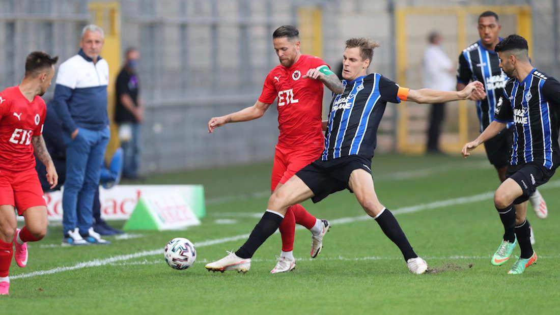 SV Waldhof - Viktoria Köln