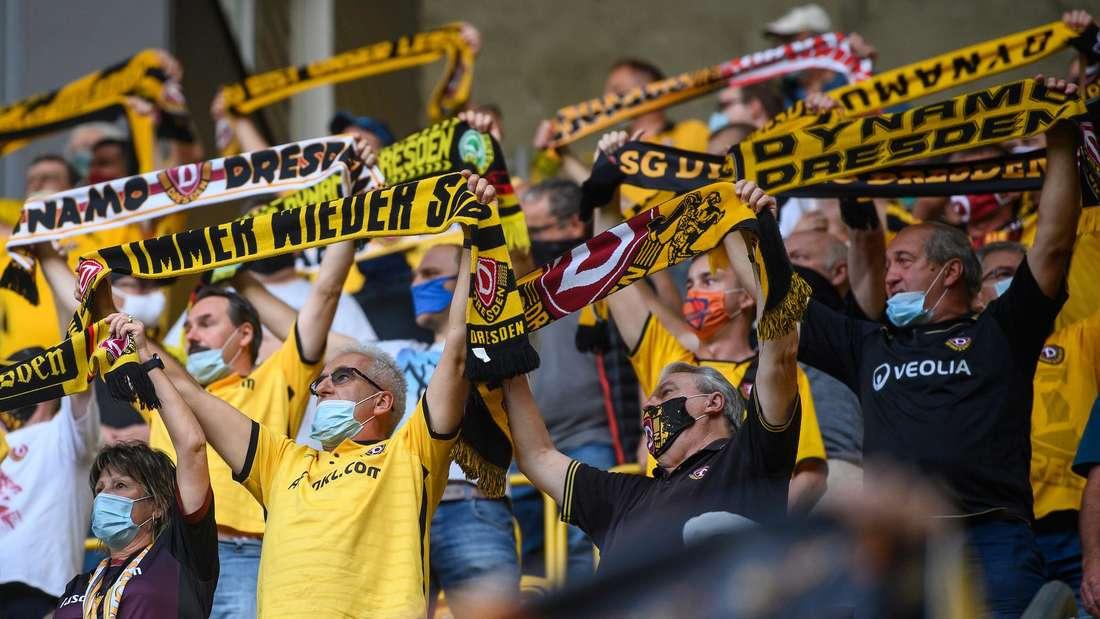 Bei der Partie Dynamo Dresden gegen den SV Waldhof dürfen wohl über 10.000 Zuschauer ins Stadion.