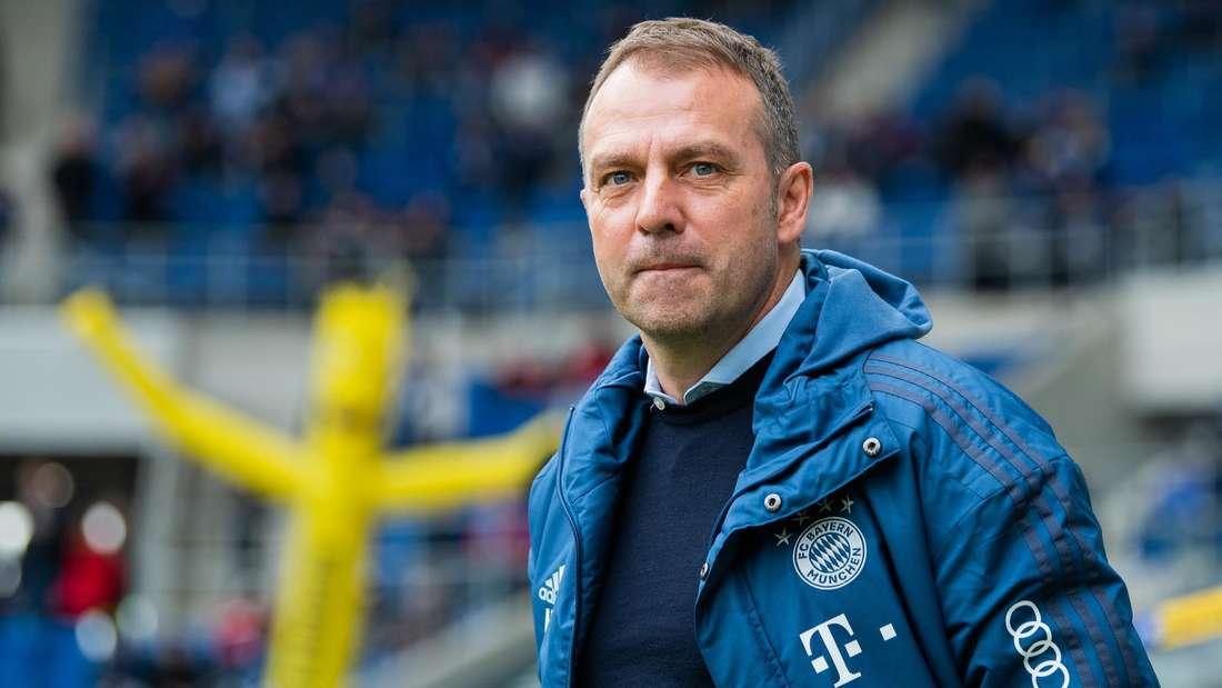 Bayern-Trainer Hansi Flick trifft am Sonntag auf seinen Ex-Klub TSG Hoffenheim.