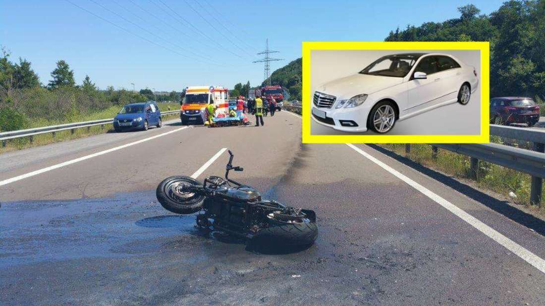 Tödlicher Motorradunfall auf A8