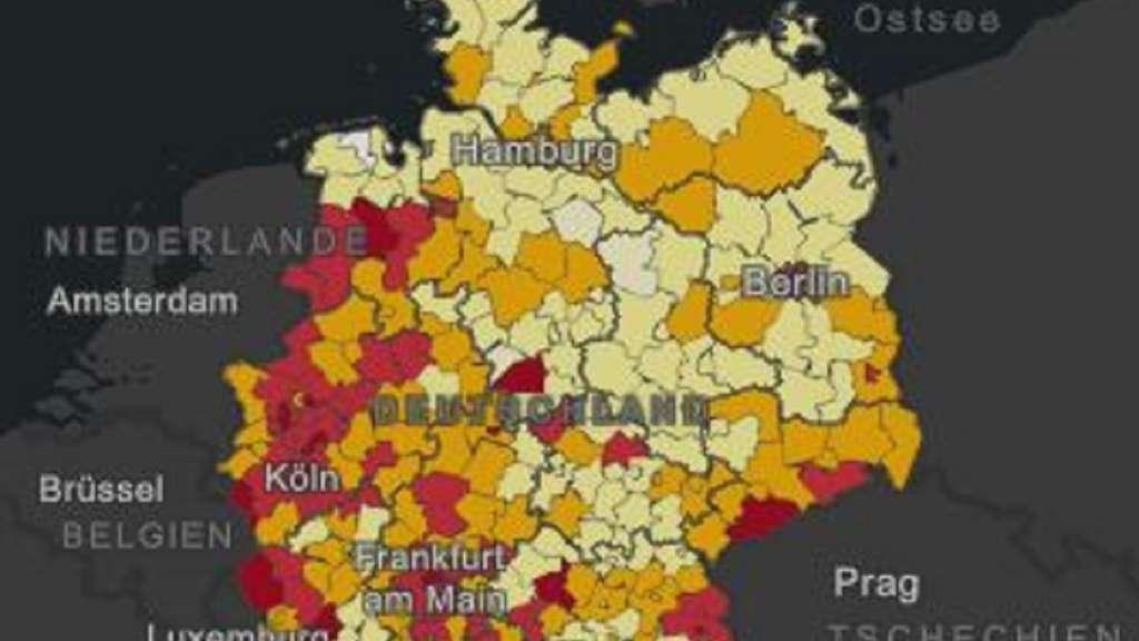 Deutschland Karte Corona