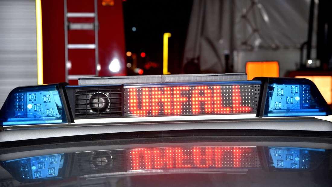 Symbolfoto Unfall Blaulicht