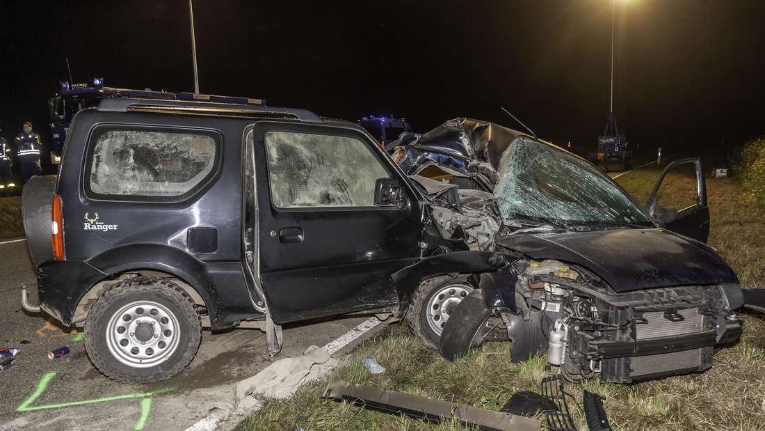 Die Unfallstelle auf der B3 bei Baden-Baden