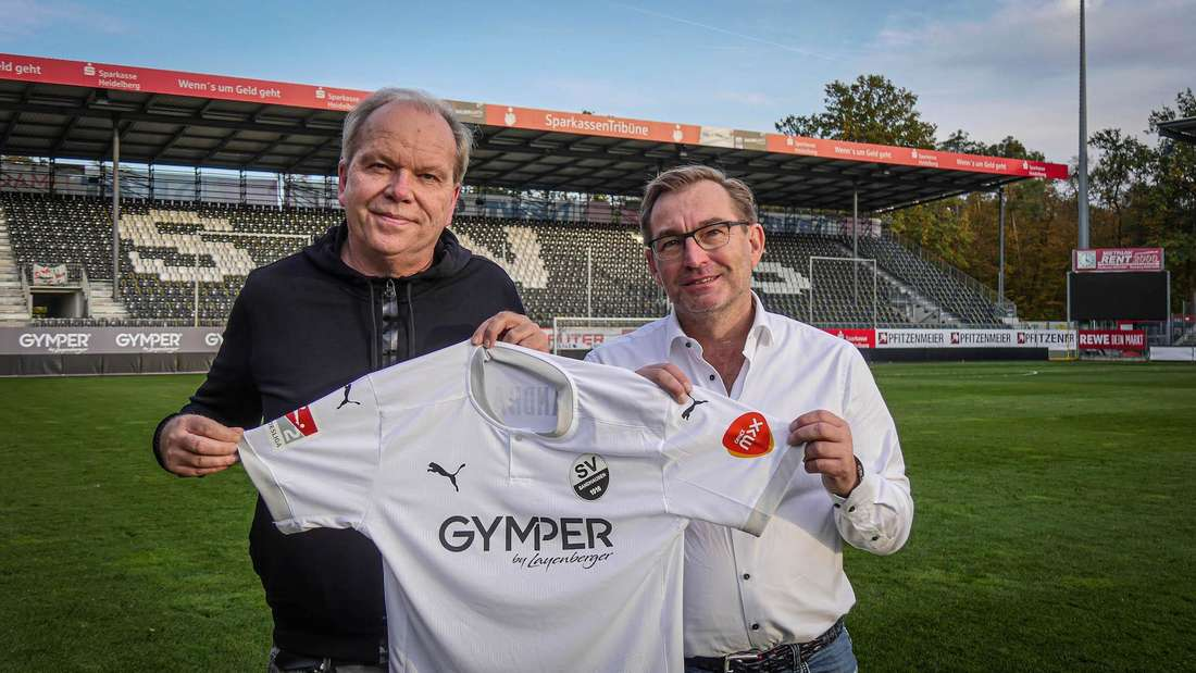 SVS-Geschäftsführer Volker Piegsa (li.) mit Peter Köhnlein, Geschäftsführender Gesellschafter Office Mix.