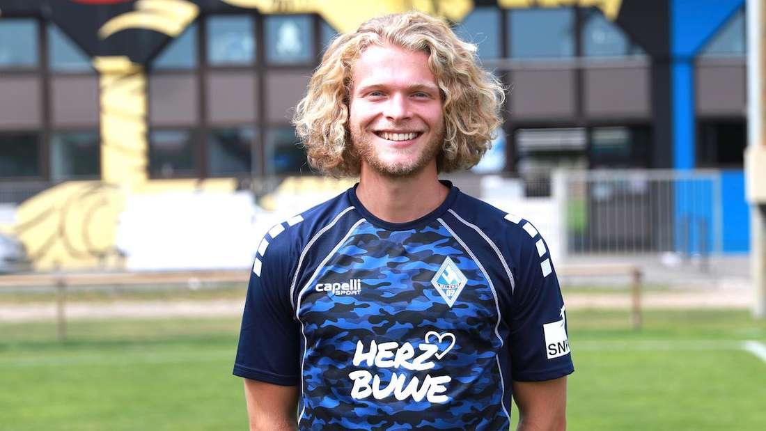 Jesper Verlaat spielt seit Sommer 2020 für den SV Waldhof.