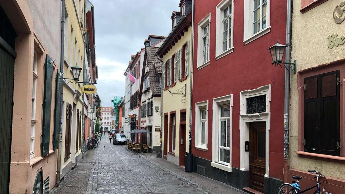 Die Untere Straße in der Heidelberger Altstadt wird im November wohl gähnend leer bleiben.