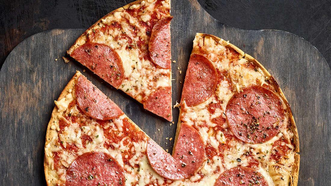 Salami Pizza im Öko-Test - Mineralöl gefunden