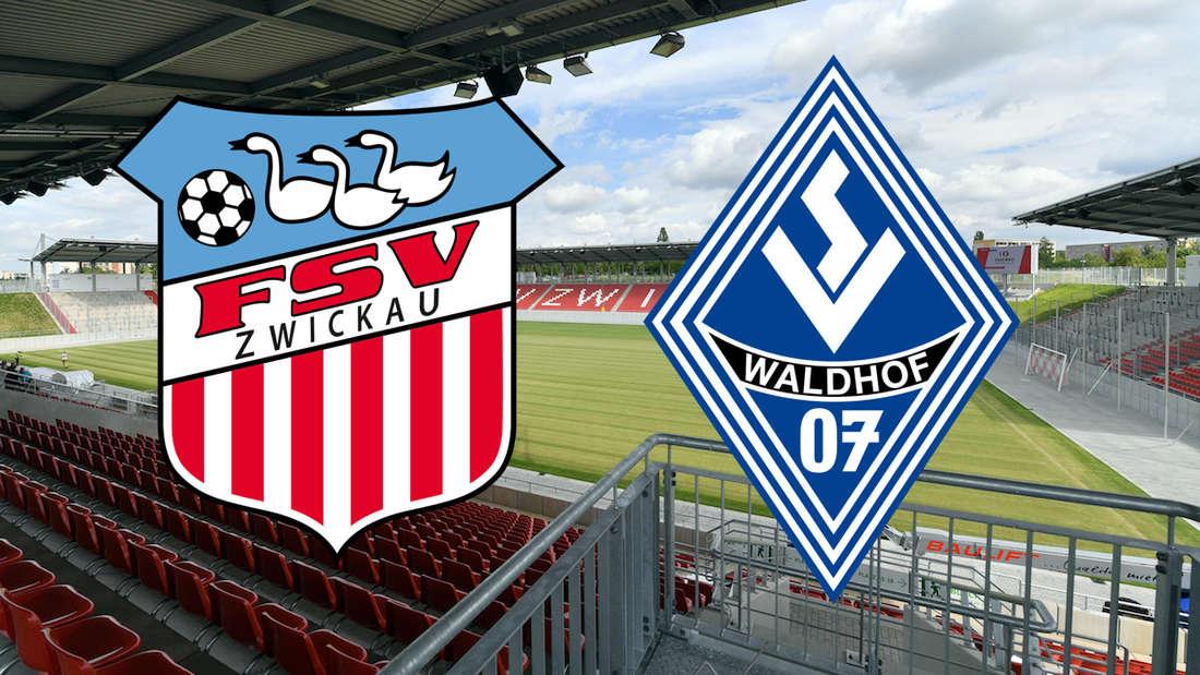 Der SV Waldhof gastiert am Samstag beim FSV Zwickau.