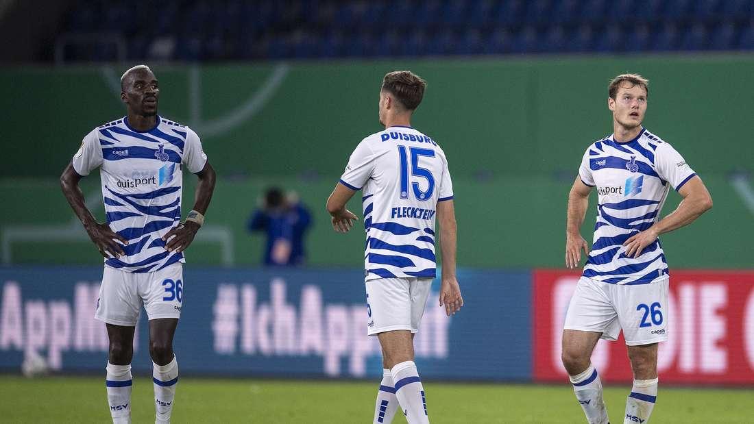 Der MSV Duisburg ist 18. der 3. Liga.