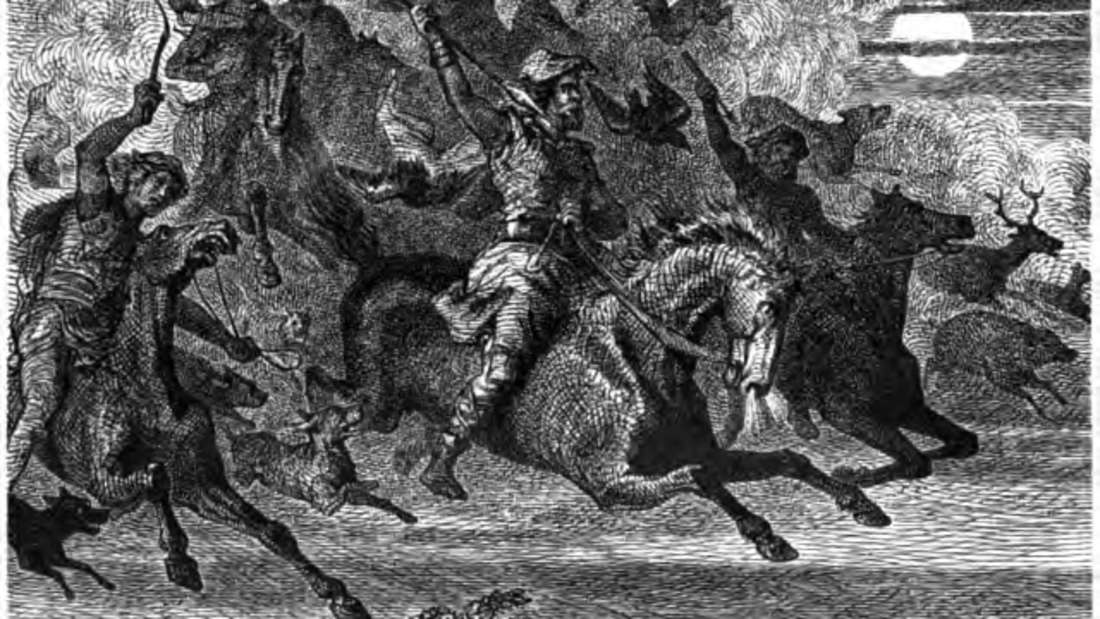 Friedrich Wilhelm Heine: Wotans wilde Jagd (1882)