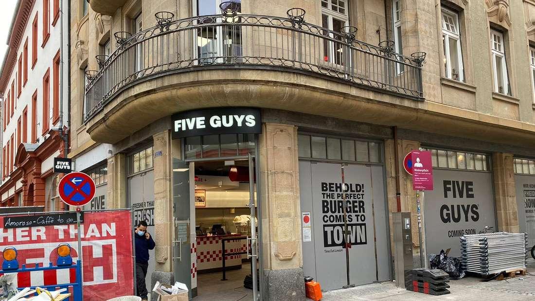 """Die """"Five Guys""""-Filiale in der Hauptstraße am 20. November"""