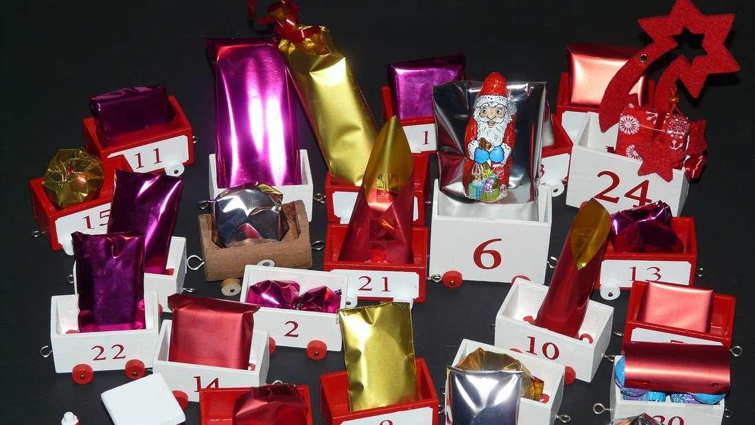 Der Geschenk-Adventskalender zeigt deine Liebe.