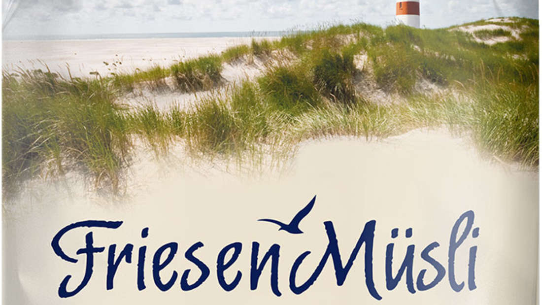 """Meienburg ruft eine Charge des Friesen Müsli """"Seesucht"""" zurück. Es handelt sich um die 400g Charge 1217 mit dem Mindesthaltbarkeitsdatum 05.06.2021."""