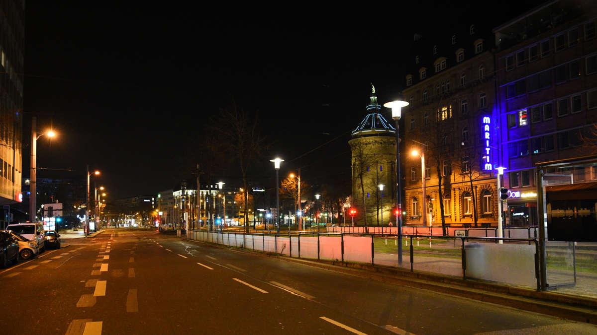 Ausgangssperre Mannheim