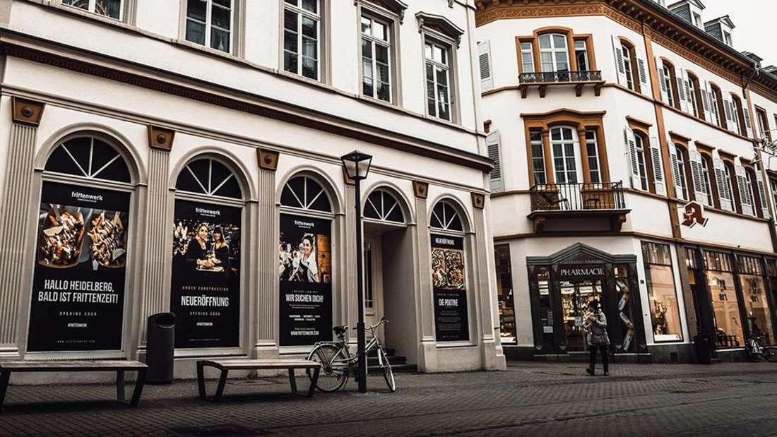 Heidelberg, Hauptstraße 116: Hier kommt das Frittenwerk rein