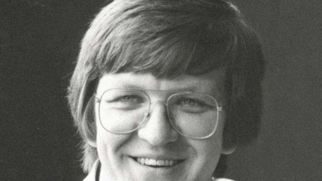 Winfried Kretschmann als junger Mann.