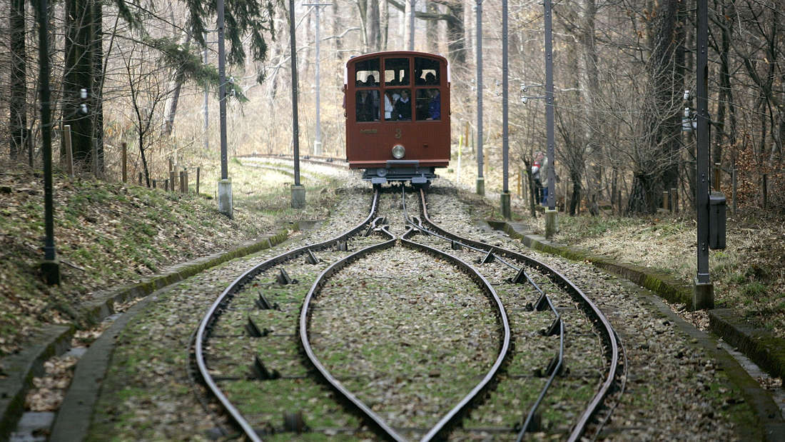 Die Bergbahn in Heidelberg (Symbolfoto)