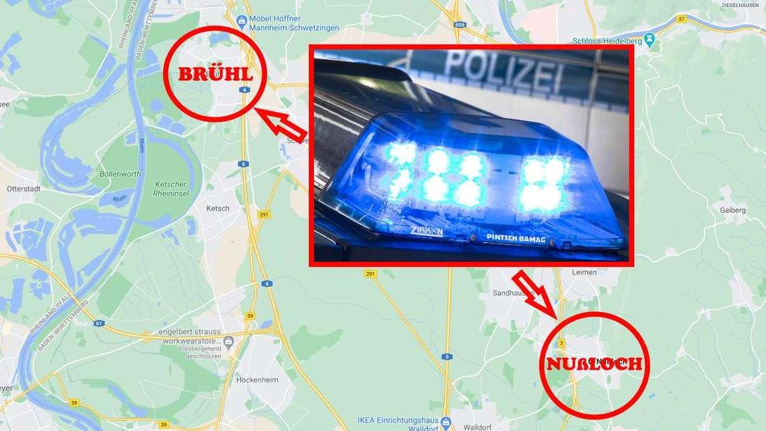 Corona-Sünder in Brühl/Nußloch: Gleich zweimal muss die Polizei wegen der Zusammenkunft einer Großfamilie ausrücken.