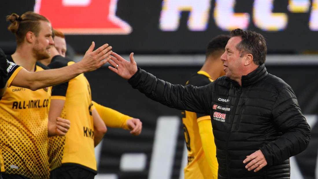 Dynamo Dresden empfängt am Samstag den 1. FC Kaiserslautern.