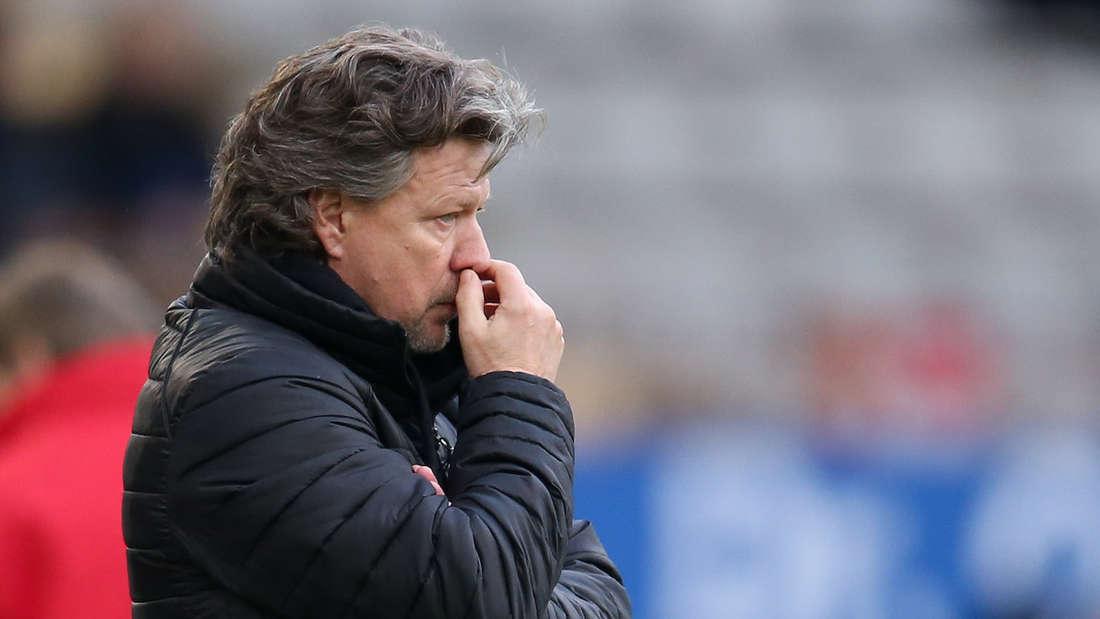FCK-Trainer Jeff Saibene hofft auf eine bessere Rückrunde seiner Mannschaft.