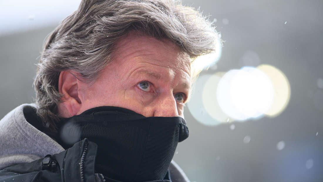 FCK-Trainer Jeff Saibene ist nach der Niederlage bei Dynamo Dresden bedient gewesen.