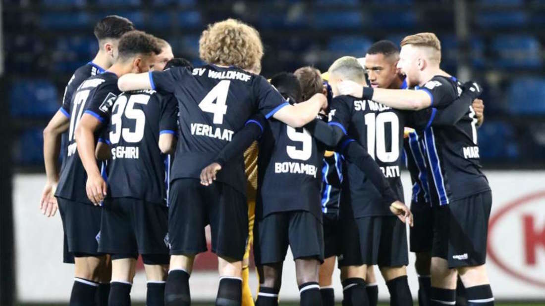 Der SV Waldhof Mannheim empfängt am Dienstag Dynamo Dresden.