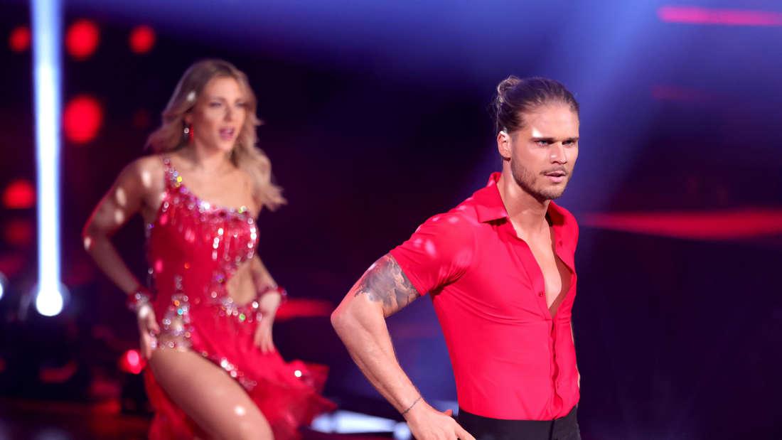 Rúrik Gíslason bei der ersten Show von Let's Dance.