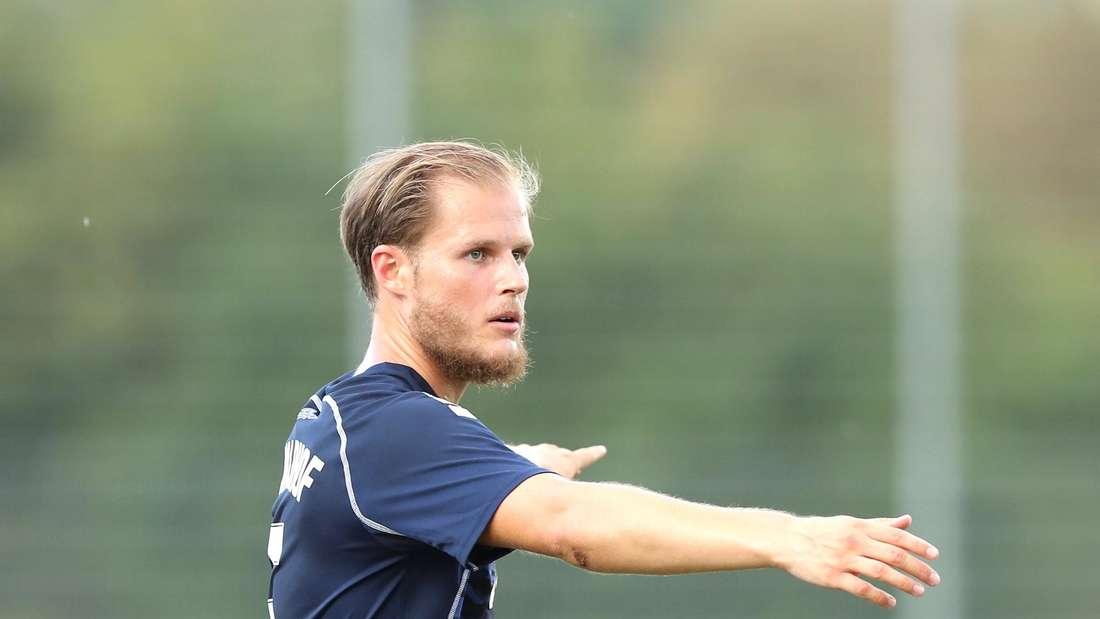 Marcel Seegert trifft am Samstag mit dem SV Waldhof auf den FCK.