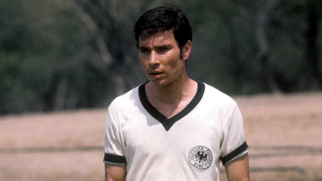 Peter Dietrich während der WM 1970 in Mexiko.