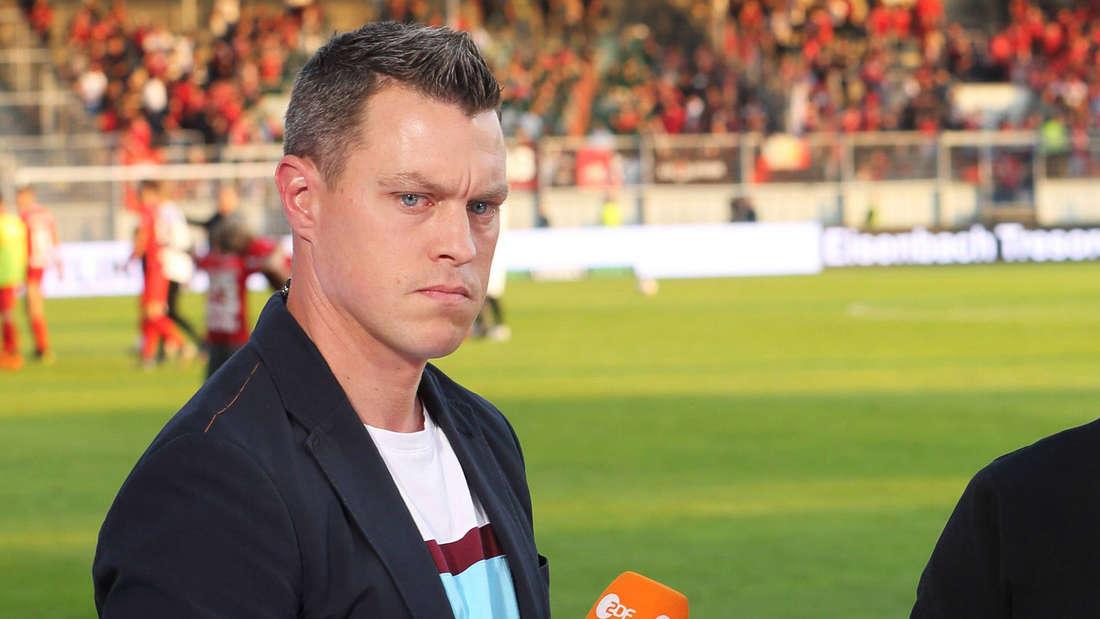 Der ehemalige Nationalspieler Hanno Balitsch ist heute TV-Experte für das ZDF.