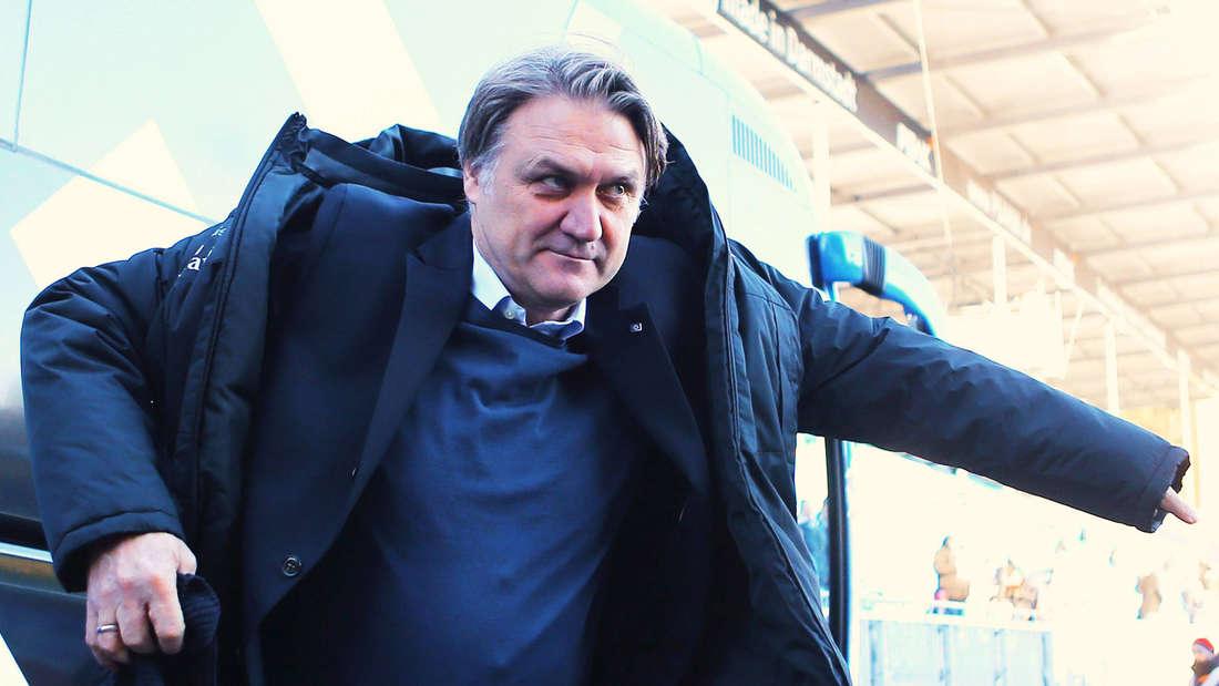 Dietmar Beiersdorfer war zuletzt als Sportdirektor beim HSV beschäftigt.
