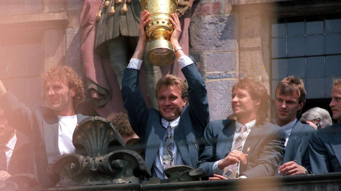 Thomas Wolter gewann mit Bremen zwei Mal den Pokal.