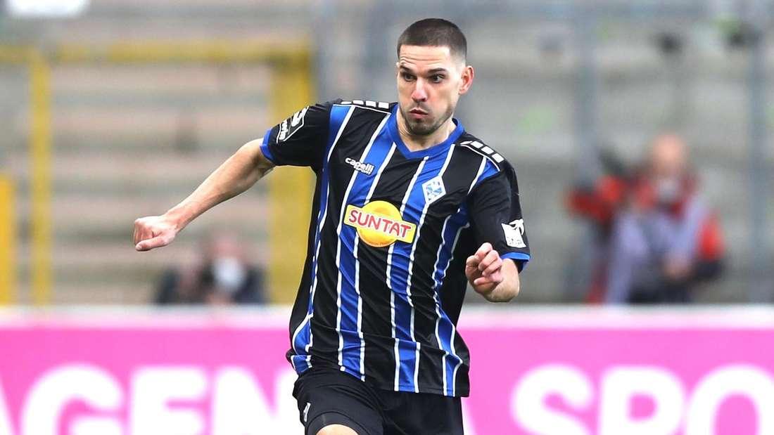 Marcel Gottschling spielt seit dieser Saison für den SV Waldhof.