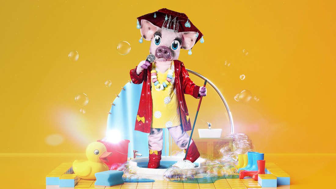 """Das Schwein aus der 4. Staffel von """"The Masked Singer"""""""