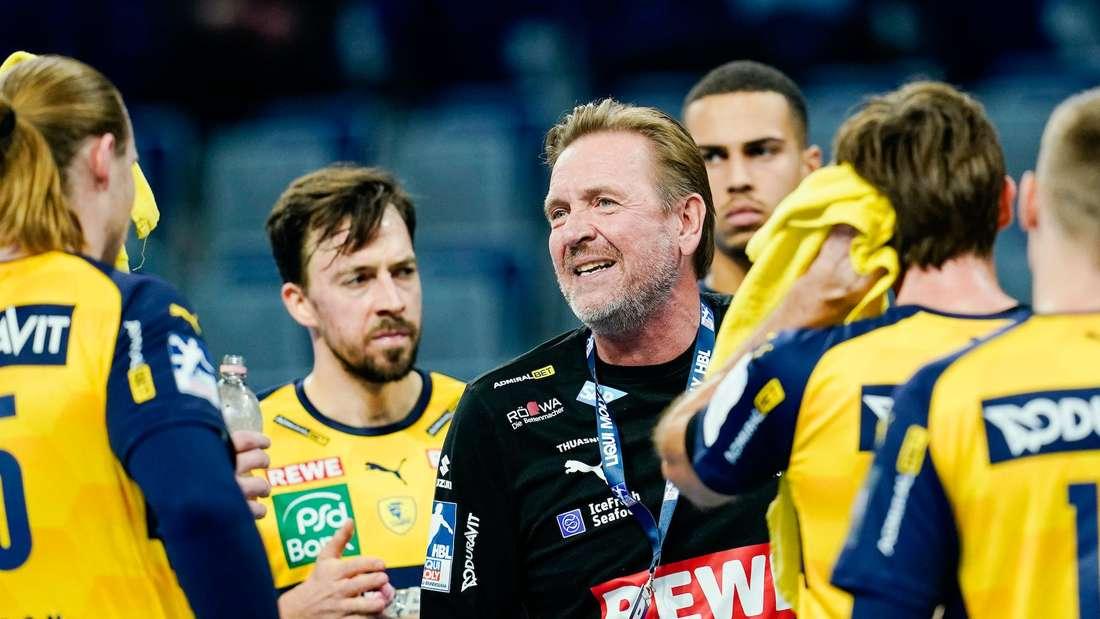 European League: Die Rhein-Neckar Löwen stehen im Achtelfinale. (Archivfoto)