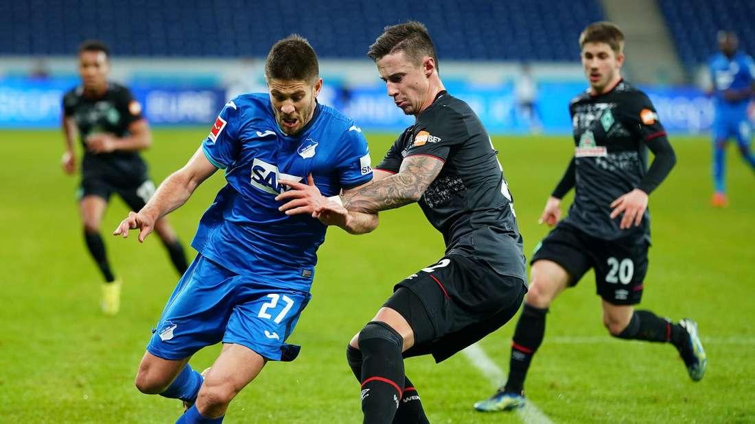 Andrej Kramaric (li.) hat bei der TSG Hoffenheim einen Vertrag bis 2022.