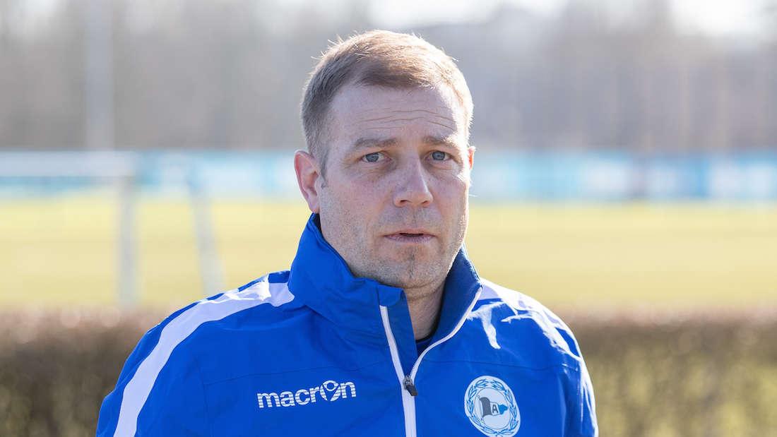 Frank Kramer ist neuer Trainer von Arminia Bielefeld.