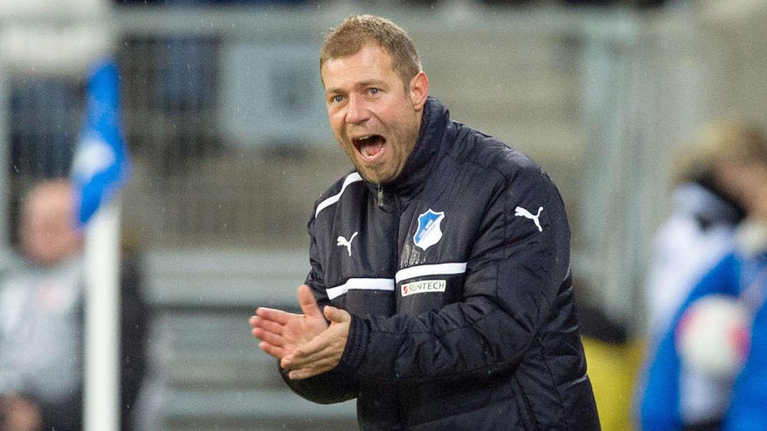 Frank Kramer hat die TSG Hoffenheim für zwei Spiele interimsweise trainiert.