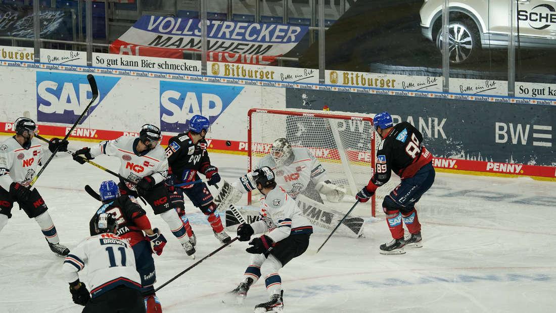 DEL: Adler Mannheim – Nürnberg Ice Tigers